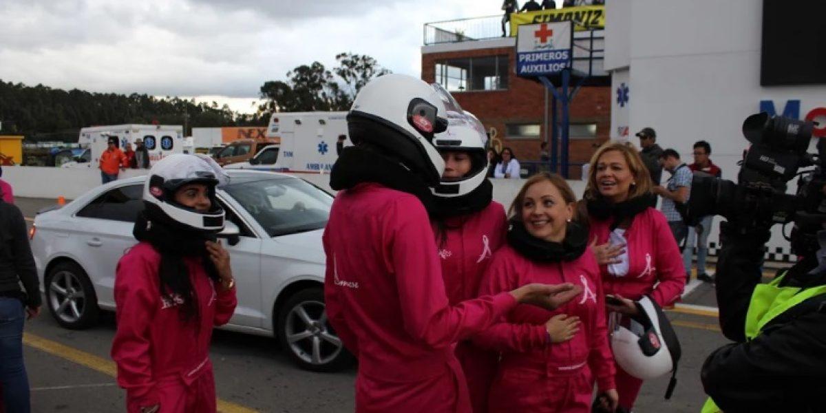 Mujeres veloces en Tocancipá, en contra del cáncer de mama