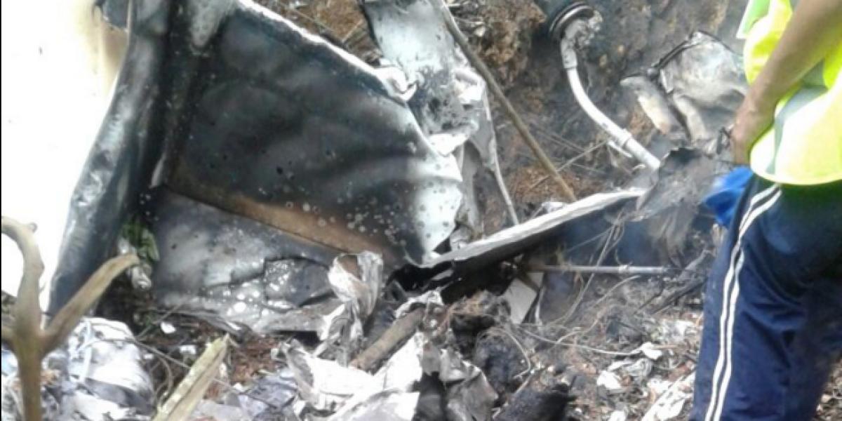 Muere un hombre en accidente de avioneta ocurrido en Antioquia