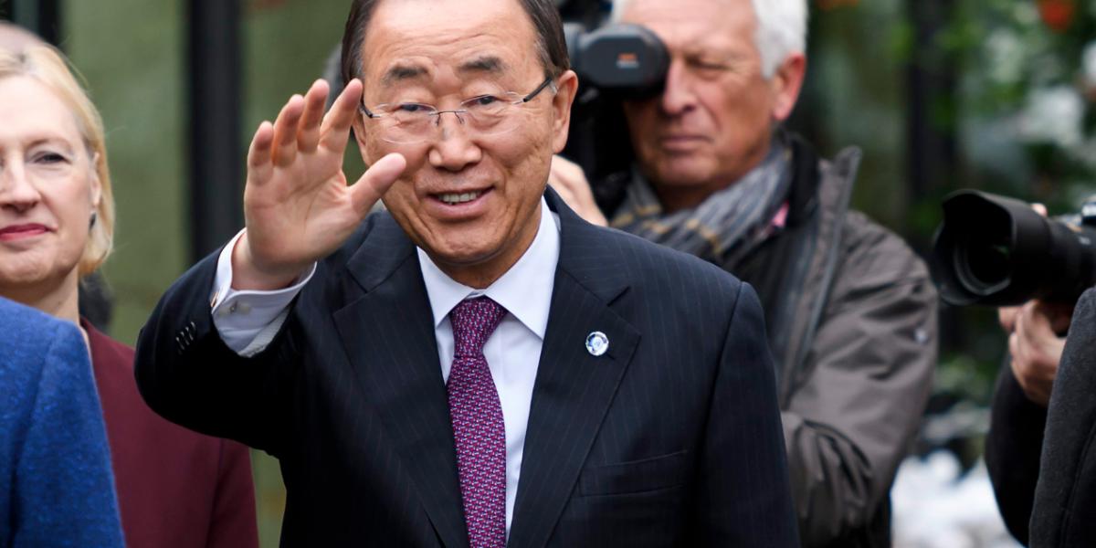 Ban Ki-moon felicita a los colombianos por el acuerdo de paz modificado