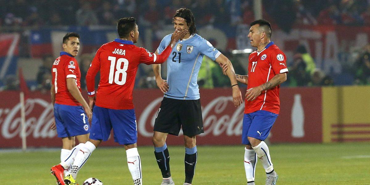 ¡A dos manos! Chile le repitió la dosis a Uruguay, con Jara en cancha