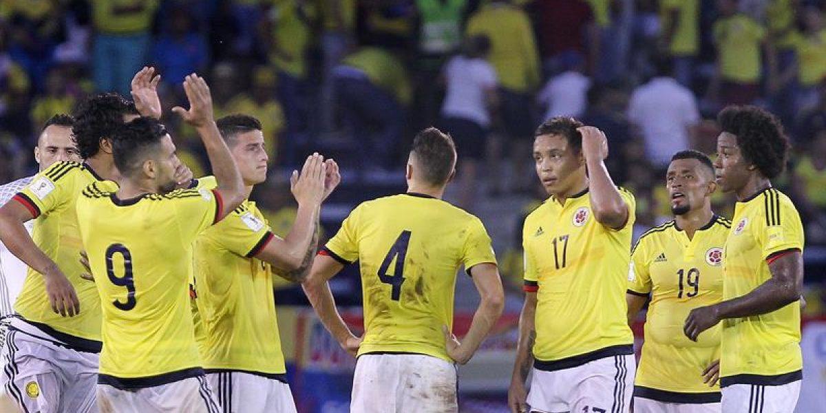 Colombia jugará de nuevo las eliminatorias en marzo de 2017