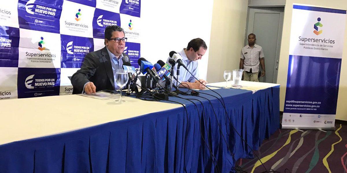 Superservicios explica toma de posesión del Gobierno a Electricaribe