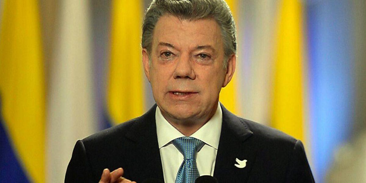 Santos dice que Congreso refrendará acuerdo de paz porque es la mejor opción