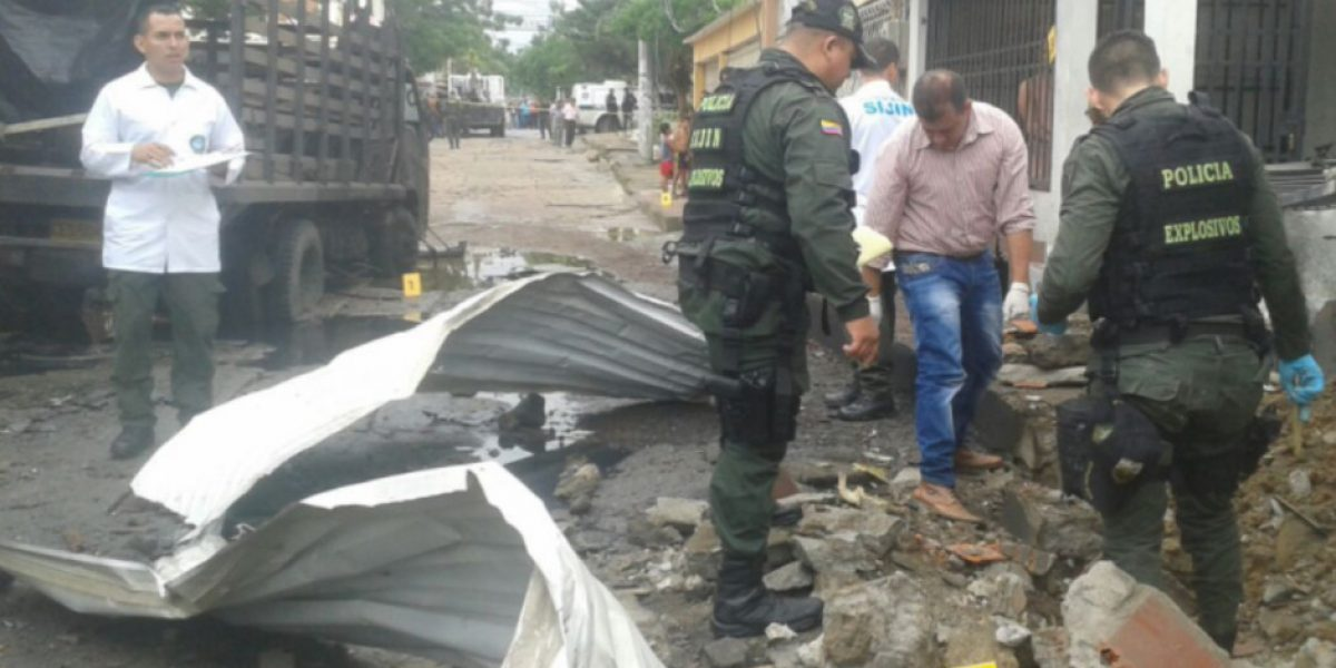 Atentado contra camión de policía en Cúcuta deja 19 heridos