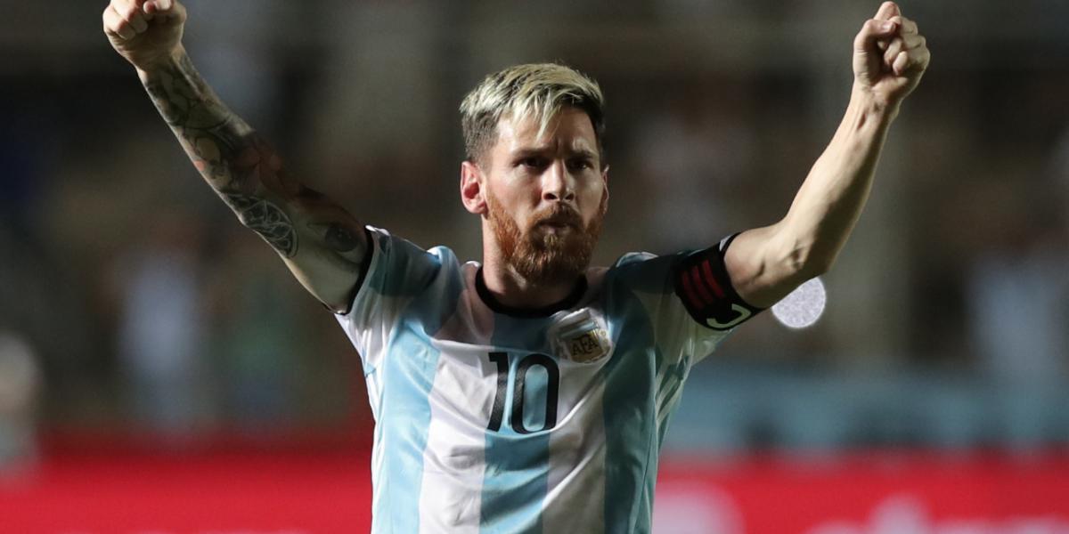 Messi apareció y Argentina superó 3 por 0 a Colombia