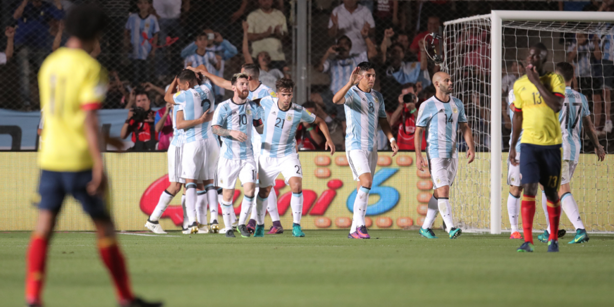 Resumen: Argentina 3-0 Colombia, Eliminatorias Rusia 2018