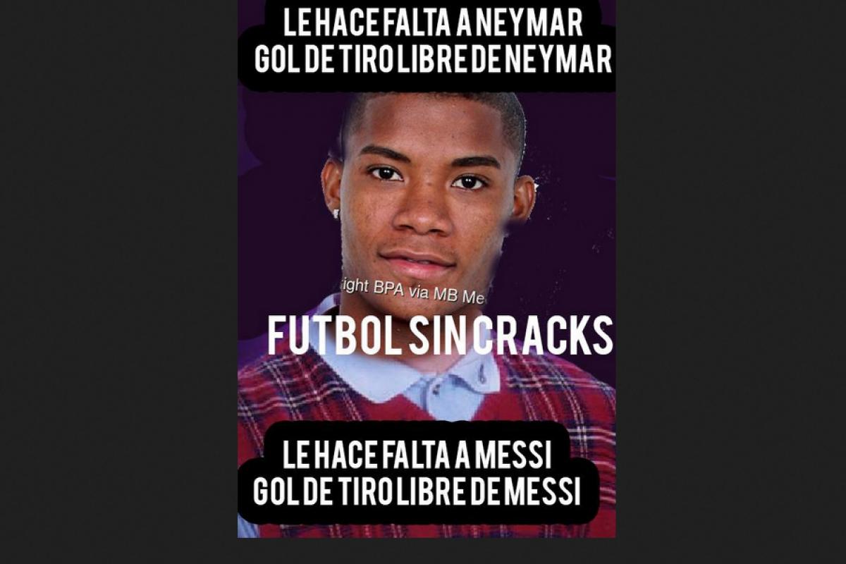 Memes de Argentina VS Colombia por la fecha 12 de las eliminatorias Rusia 2018. Imagen Por: Tomado de Facebook