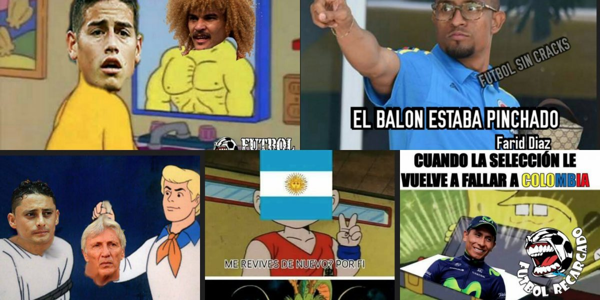 Burlas y memes por la derrota de Colombia contra Argentina
