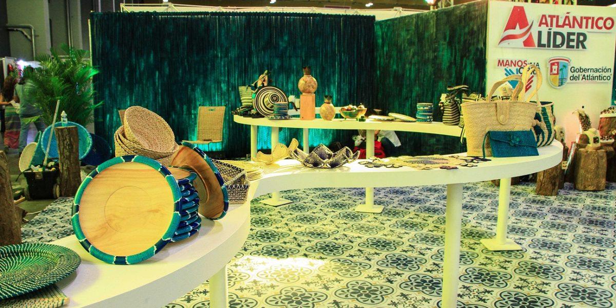 Artesanos del Atlántico muestran sus productos en la Feria del Hogar Caribe