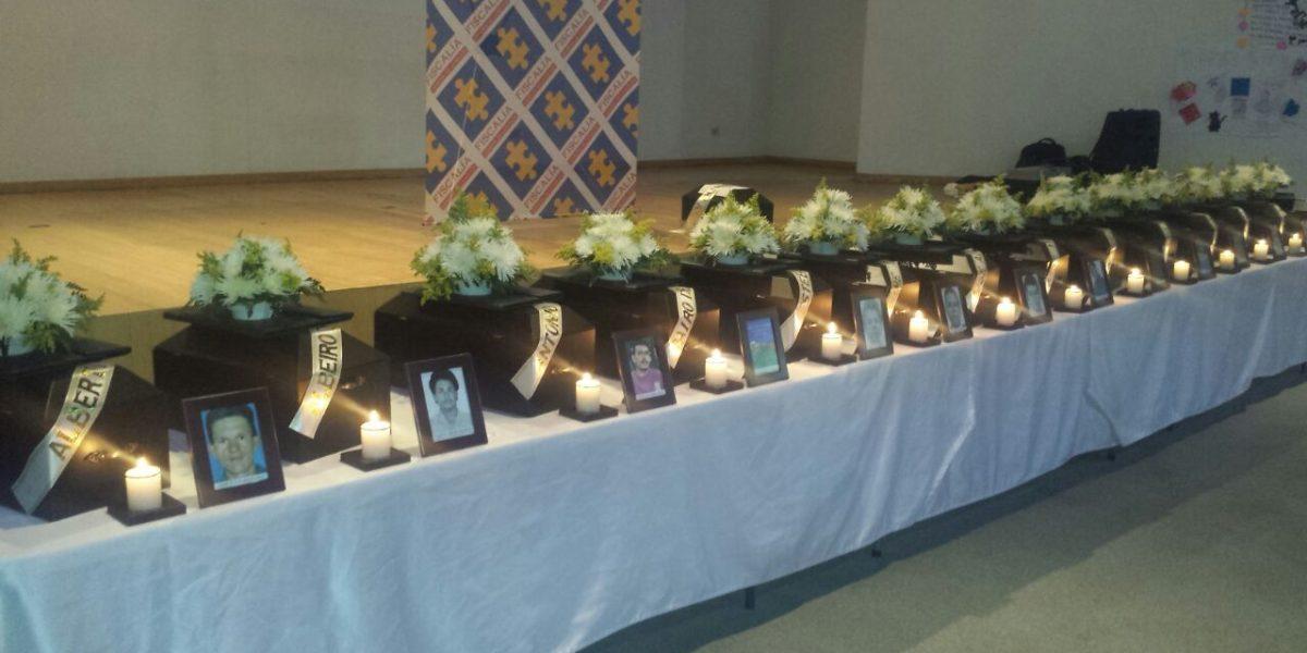 14 restos óseos de desaparecidos fueron entregados a sus familias en Medellín
