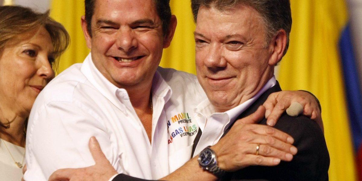 ¿Cómo sería la sucesión en caso de ausencia del presidente Santos?