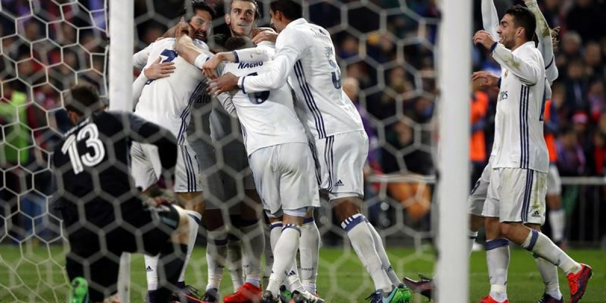 James Rodríguez jugó 10 minutos en la goleada del Real Madrid al Atlético