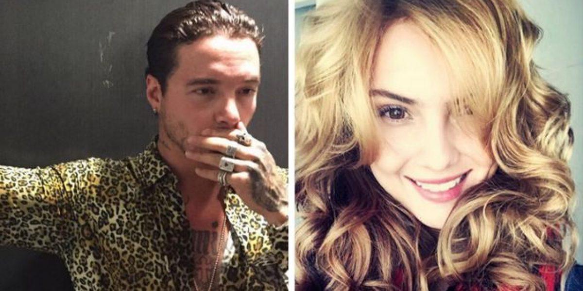 Fotos sobre la relación de J Balvin y Danielle Arciniegas