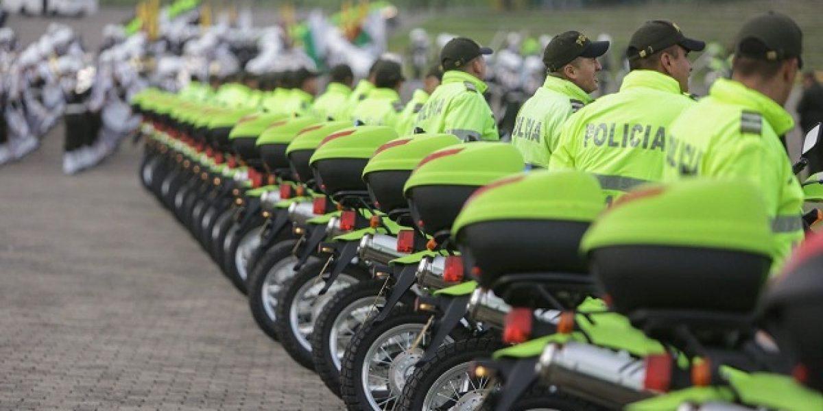Policía de Bogotá cuenta con nuevos vehículos para reforzar la seguridad