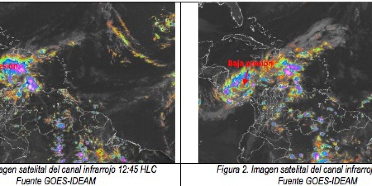 Alerta por ciclón tropical que se formó en el Caribe colombiano