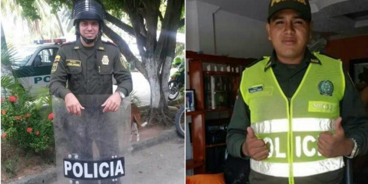 Capturan a dos policías robando en Barranquilla