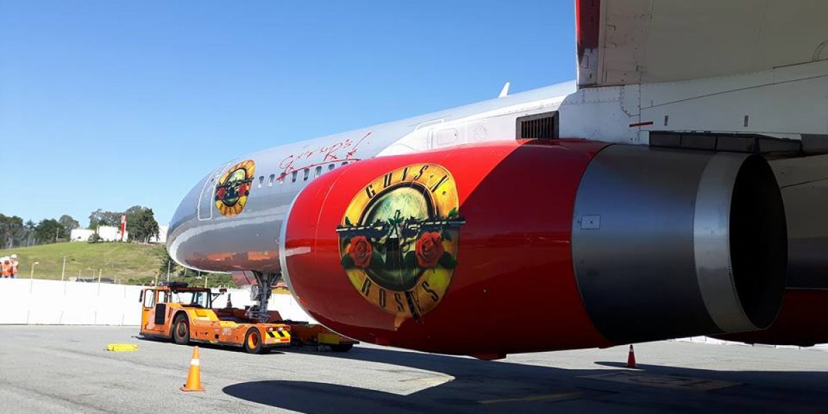 Guns N' Roses aterrizó en Rionegro
