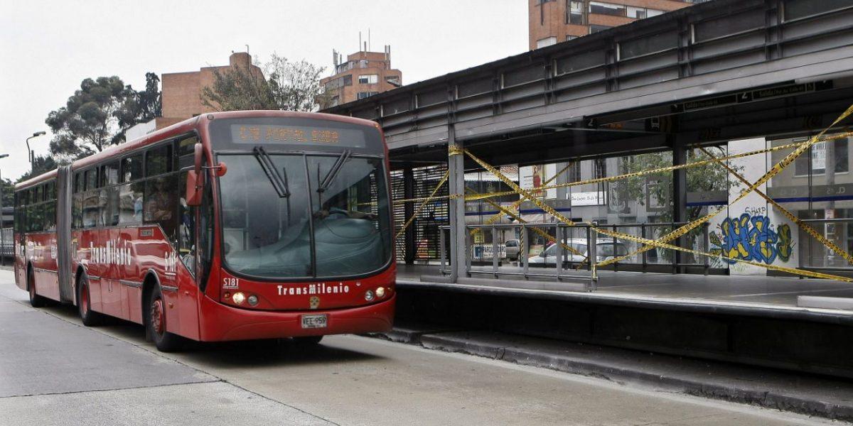 La falla en un bus de TransMilenio de la que nadie supo