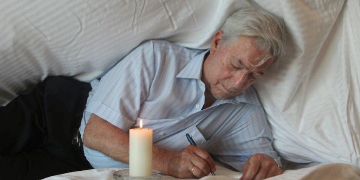 Mario Vargas Llosa se prepara para el 'Hay Festival'