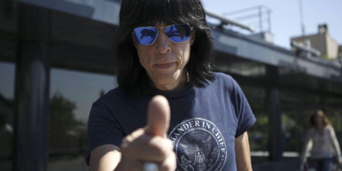 Marky Ramone habla de su regreso a Colombia junto a Guns N