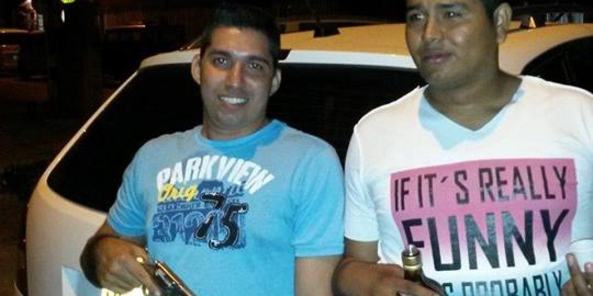 Revelan el prontuario delictivo de policías que capturaron robando en Barranquilla