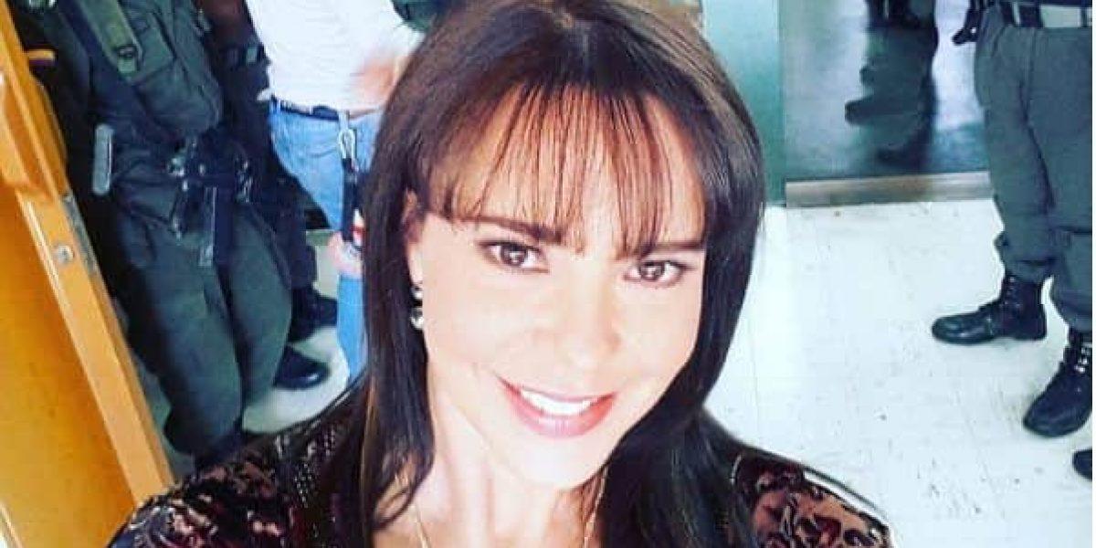 Natasha Klauss fue agredida en centro comercial