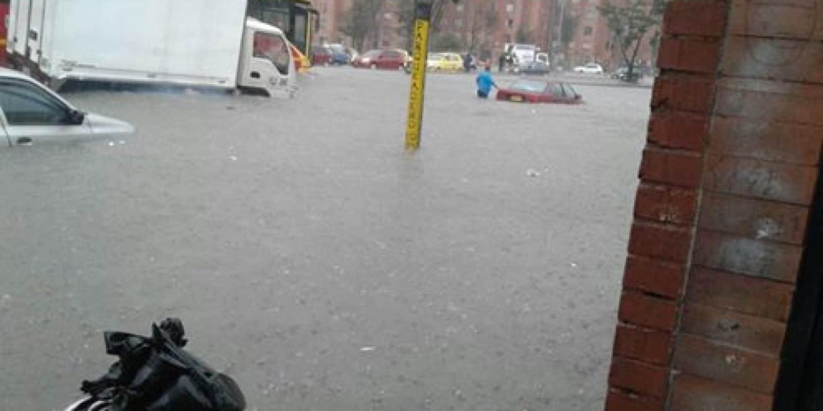Lluvias e inundaciones en Bogotá