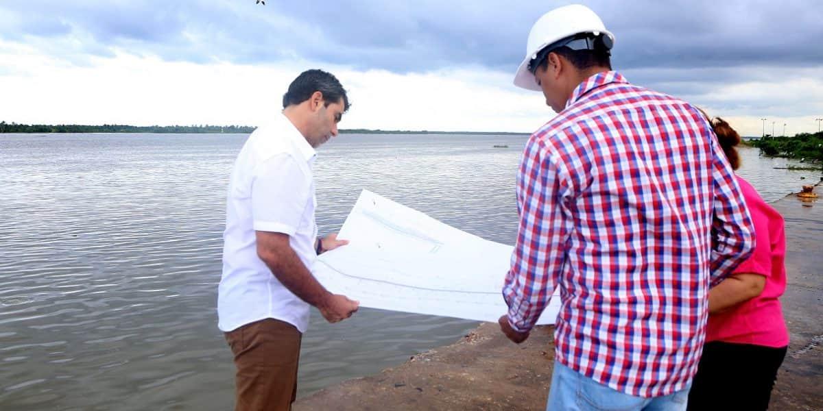Así avanzan tres obras urbanas claves sobre el Río Magdalena en Barranquilla