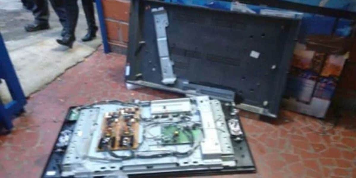 En electrodomésticos llegaban armas desde Estados Unidos a Medellín