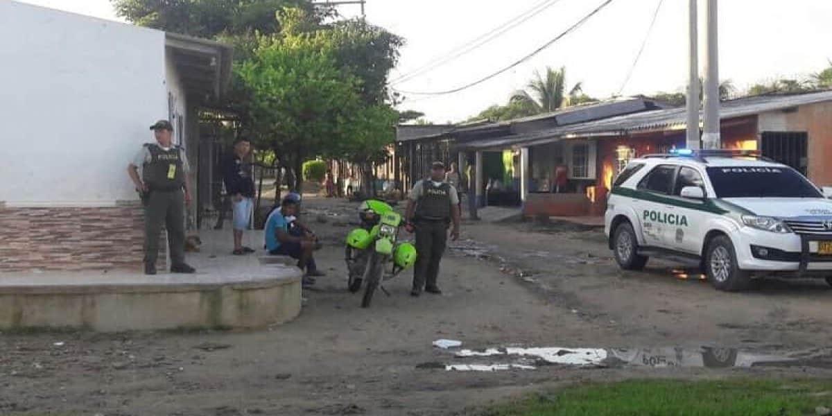 Hieren a bebé en balacera en Barranquilla