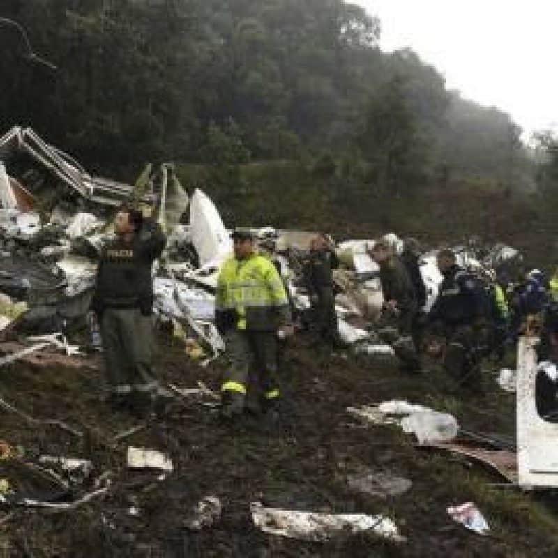 76 MUERTOS Y 5 SUPERVIVIENTES EN ACCIDENTE AEREO EN COLOMBIA. Imagen Por: EFE