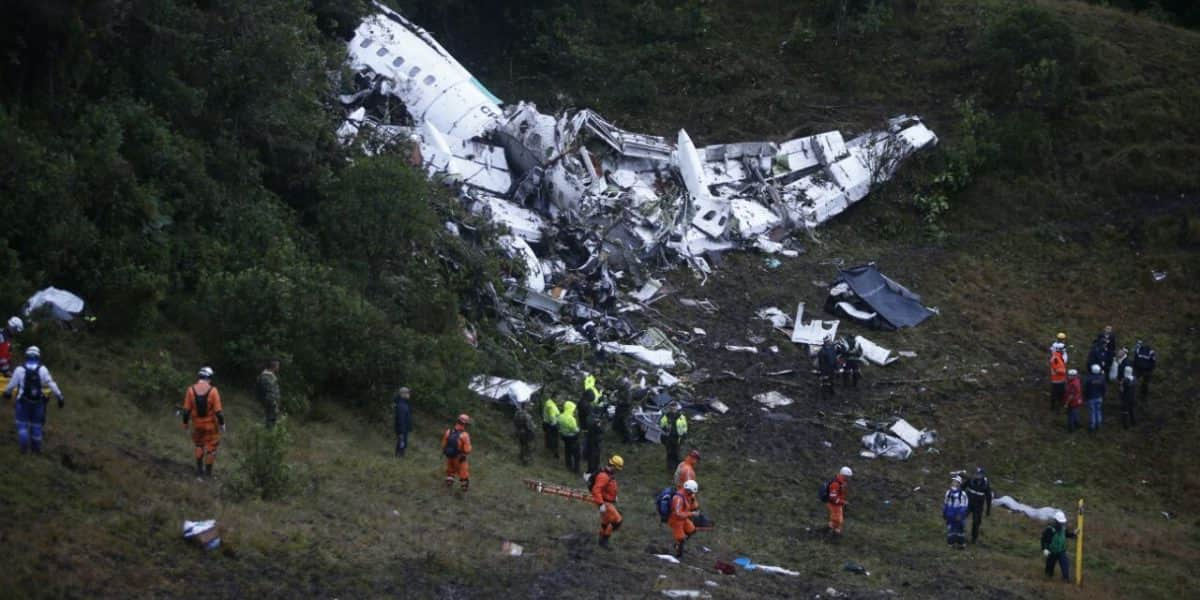 Principales accidentes aéreos en Colombia desde 1988