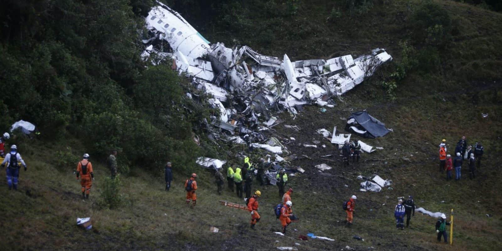 Video los principales accidentes aéreos en Colombia. Imagen Por: EFE