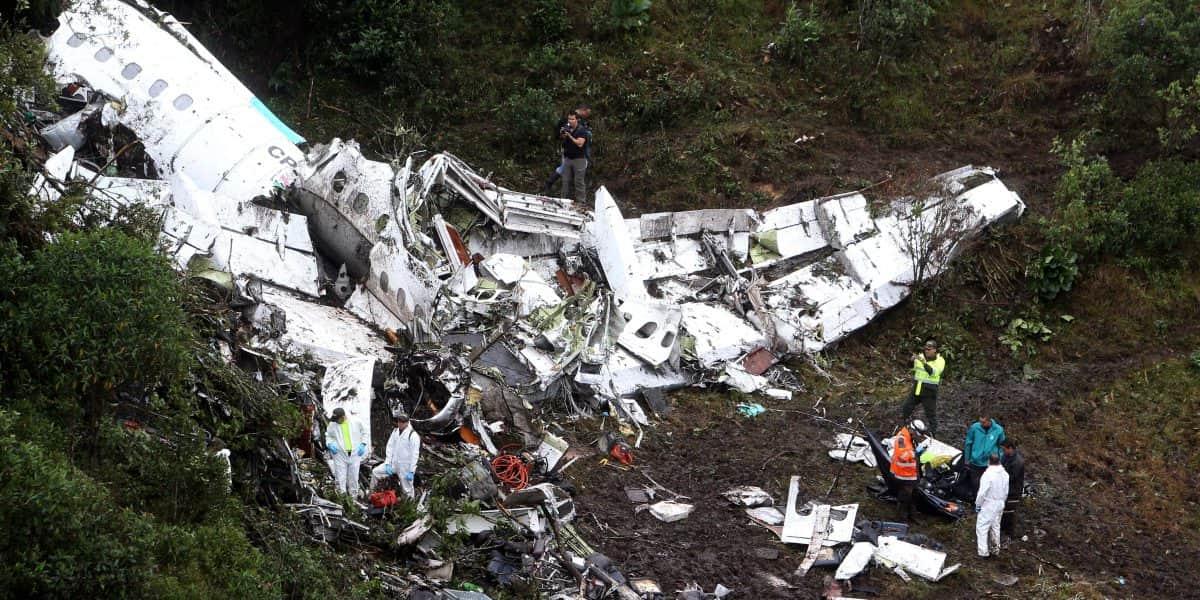 Revelan audio clave de la caja negra del avión de Chapecoense