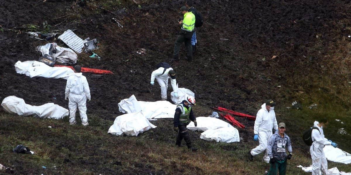 Un niño fue quien encontró a Alan Ruschel luego del accidente aéreo del Chapecoense