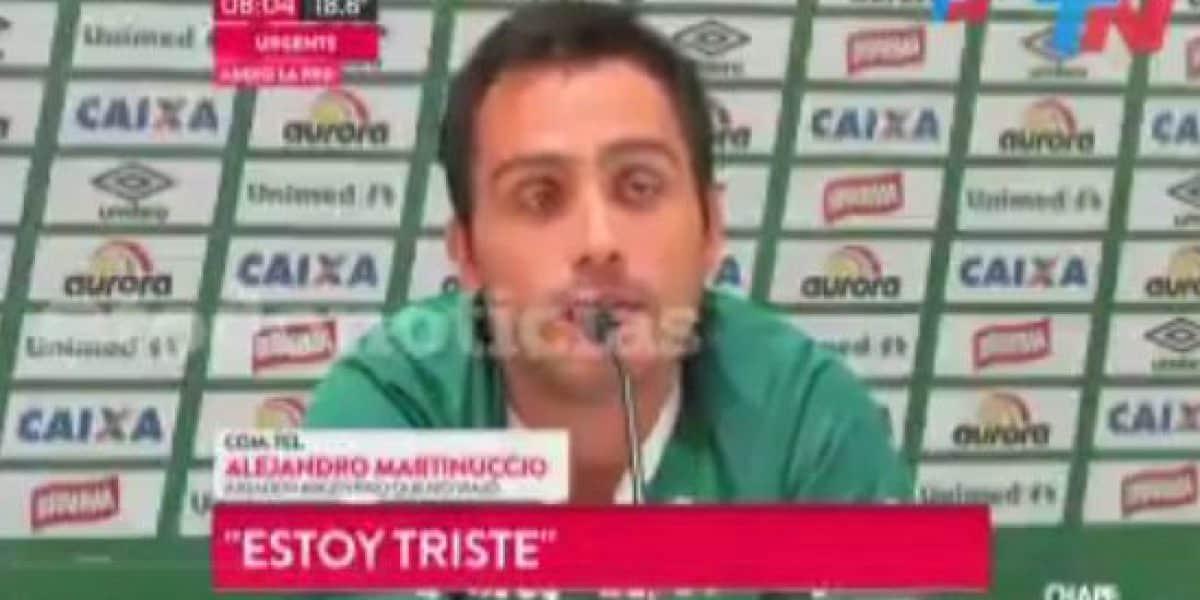 Alejandro Martinuccio, jugador de Chapecoense: