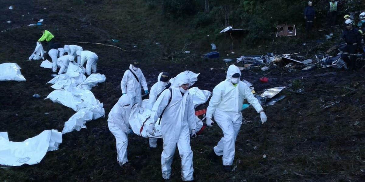 Termina identificación de los 71 fallecidos y empieza el traslado a Brasil