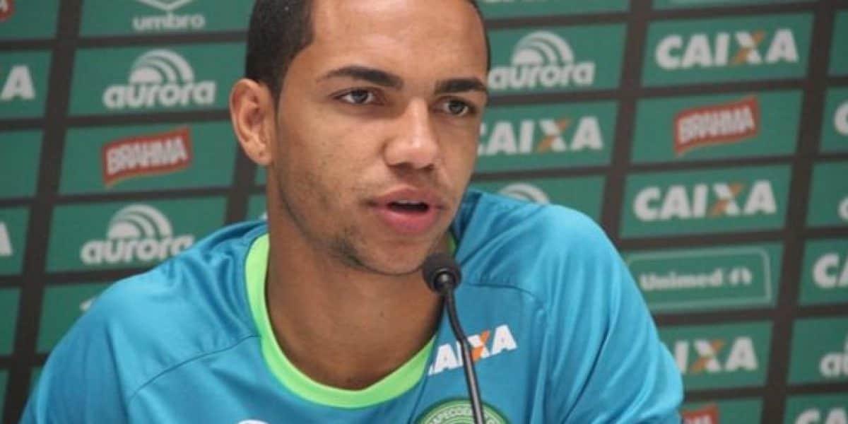 Video: Así fue como Thiaguinho del Chapecoense se enteró de que iba a ser padre