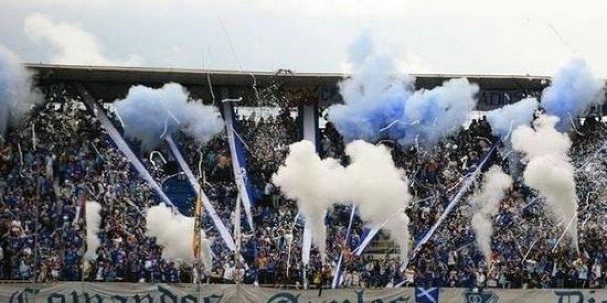 Homenaje a Chapecoense en el estadio El Campín