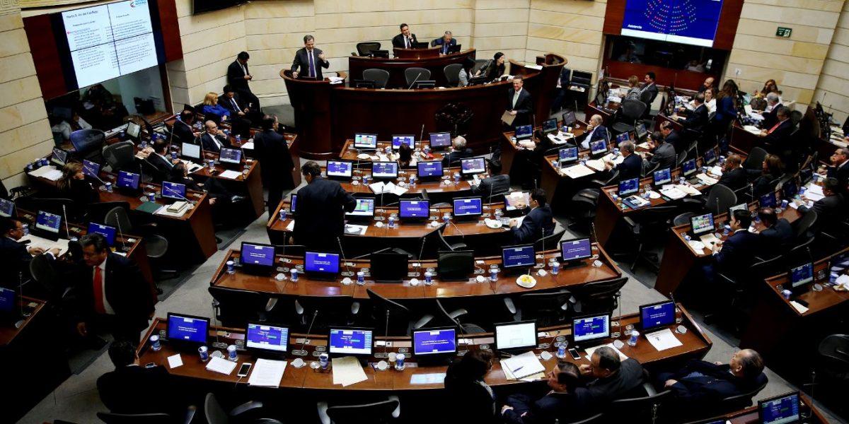 Cámara de Representantes acaba de aprobar acta de conciliación de la Reforma Tributaria