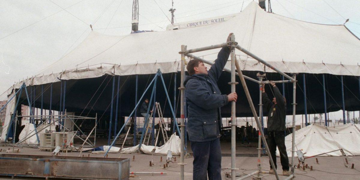 Trabajador del Cirque Du Solei fallece en accidente laboral