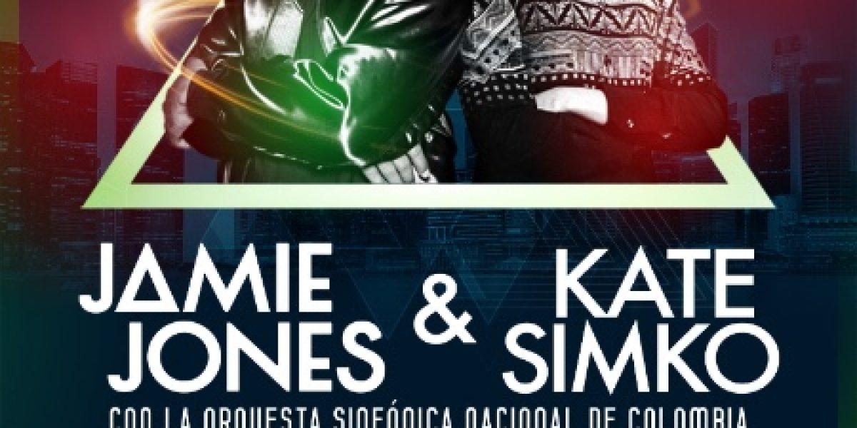 Jamie Jones y Kate Simko se unen con la Sinfónica Nacional de Colombia
