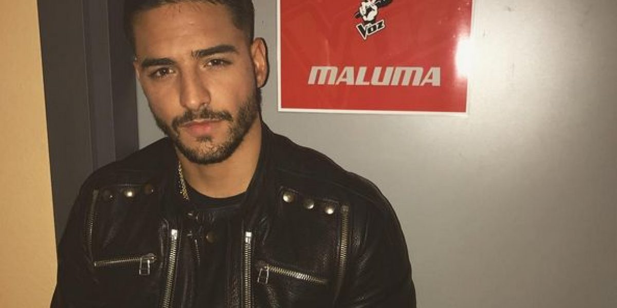 Indirecta a Maluma por besar a ex de cantante español