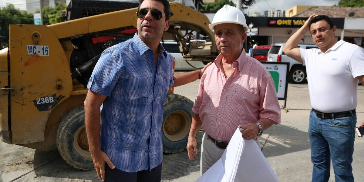 Arrancan trabajos de canalización del arroyo de las calles 76 y 75 en Barranquilla