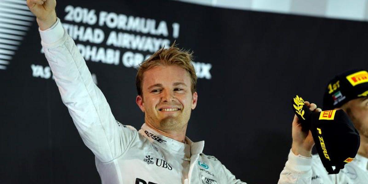 Nico Rosberg, campeón vigente de la Fórmula 1, le dice adiós al automovilismo