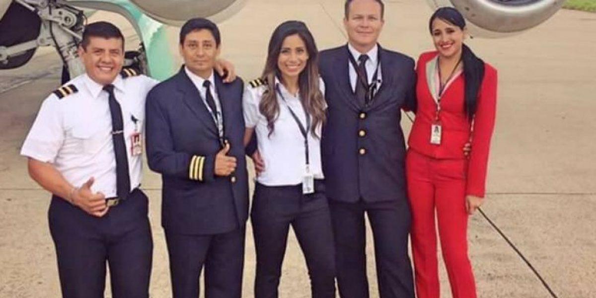 Azafata sobreviviente del vuelo Lamia regresa a Bolivia
