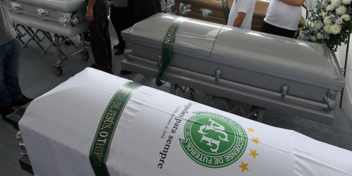 Hoy comienza repatriación de cuerpos del avión Chapecoense