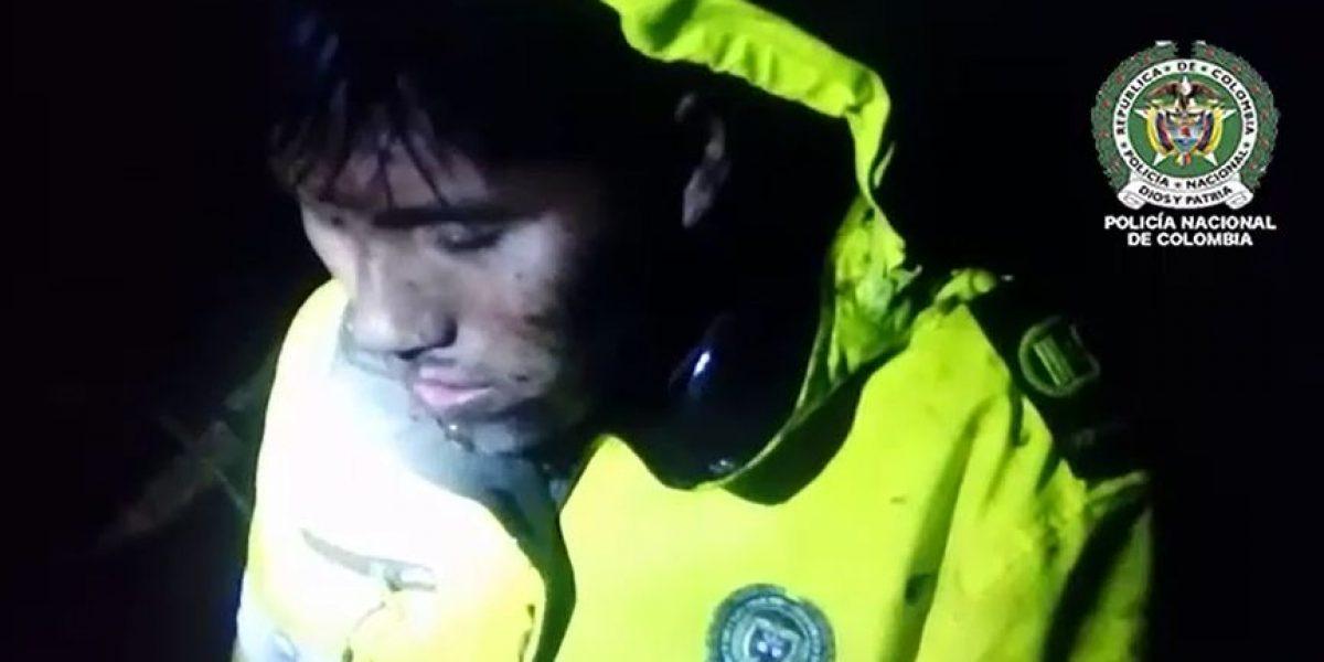 En video la angustia de Erwin Tumirí luego del accidente aéreo