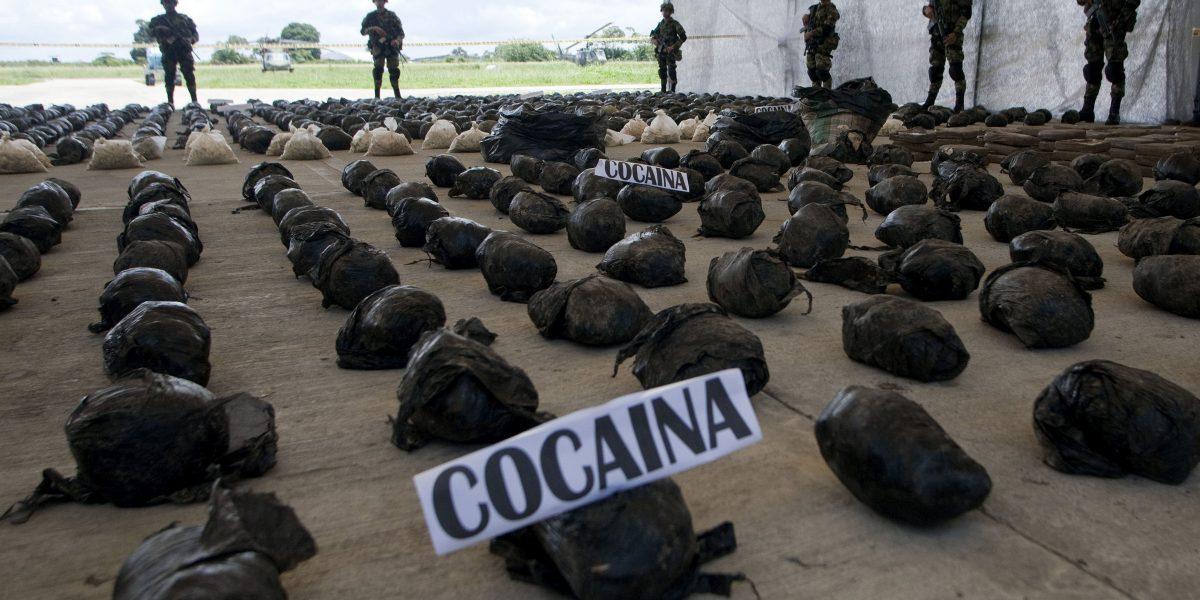Incautan cargamento de coca de
