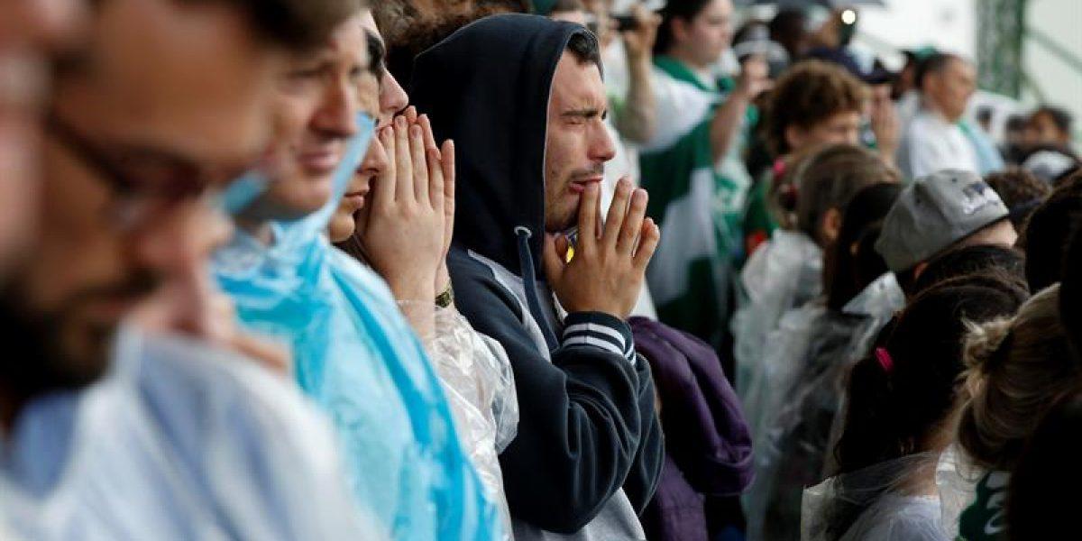 Fotos: La despedida de Chapecó a las víctimas del accidente de Chapecoense